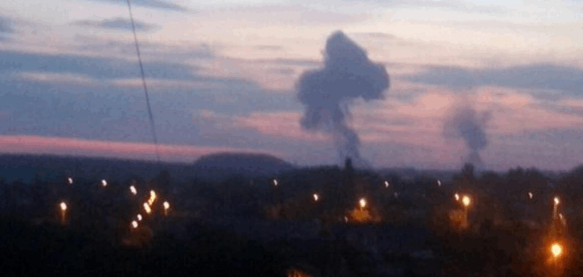В Донецке рванул завод химизделий - очевидцы. Опубликованы фото и видео