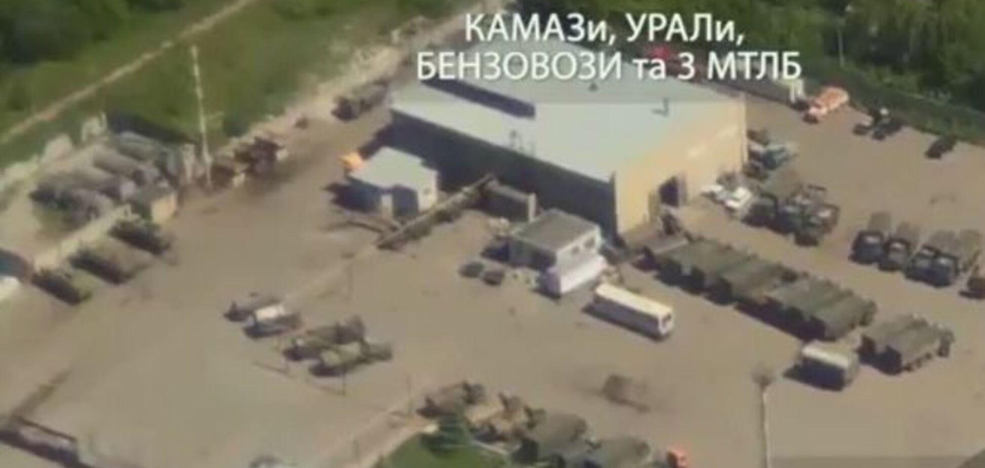 Бойцы 'Днепр-1' засняли в Луганске 200 единиц российской боевой техники
