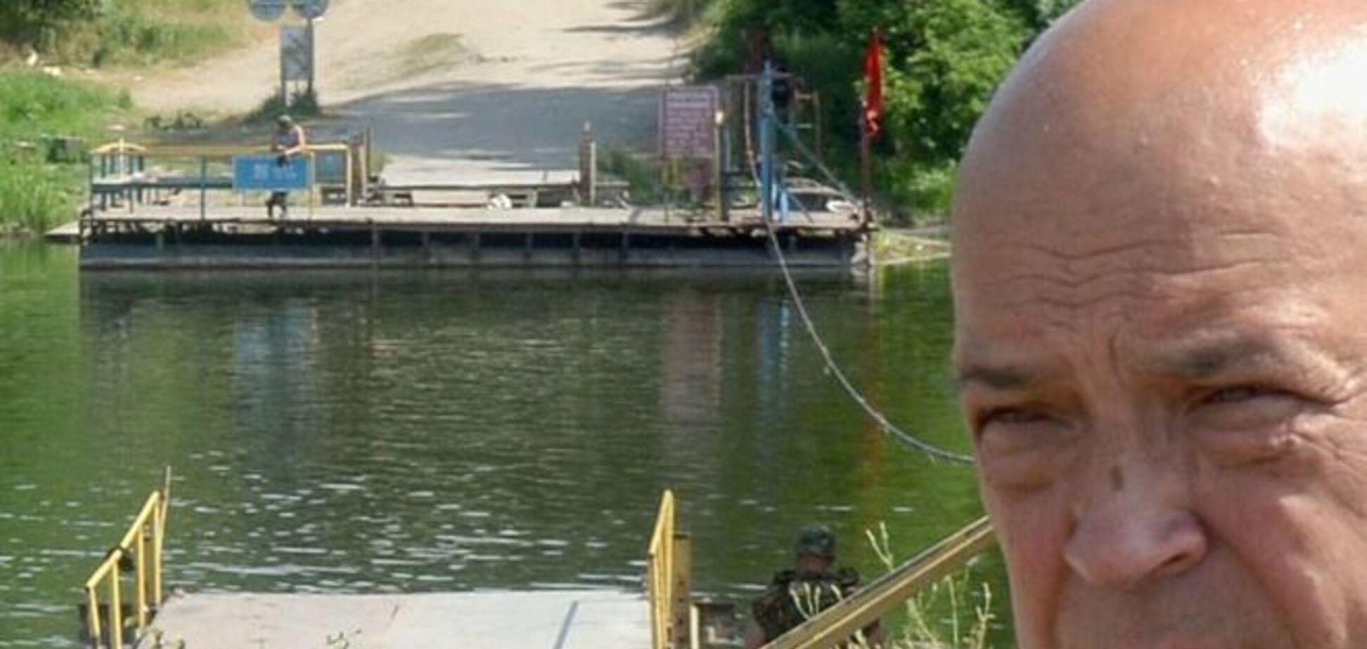 Москаль сделал селфи на фоне террористов 'ЛНР'