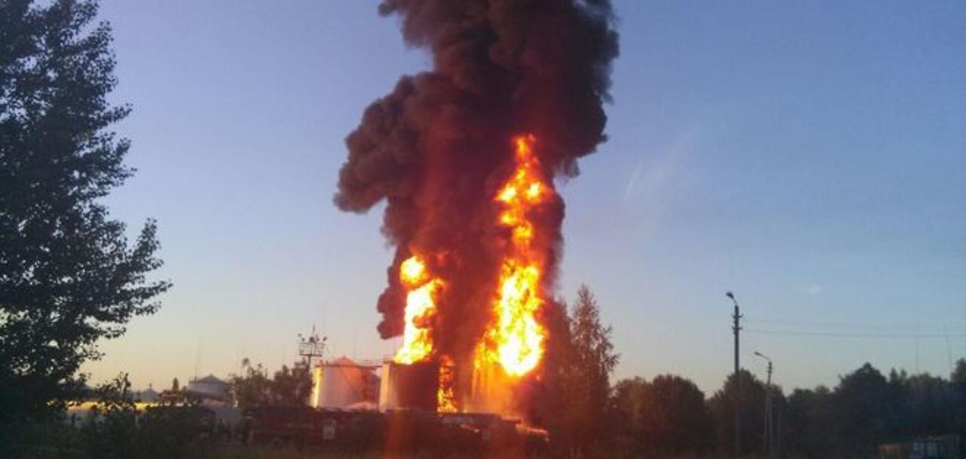 МВД: руководство 'БРСМ' полтора часа скрывало пожар на нефтебазе