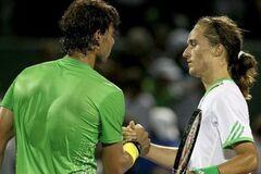 Українець сенсаційно переміг легенду світового тенісу