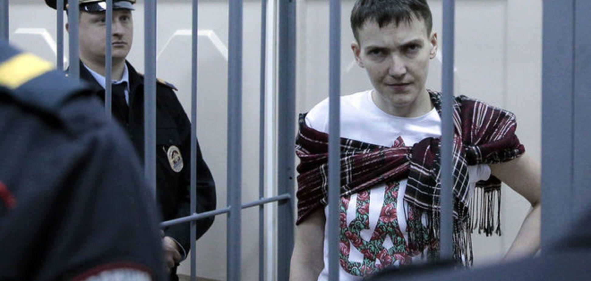 Савченко отказалась от 'подсадного' украинского адвоката в пользу российских