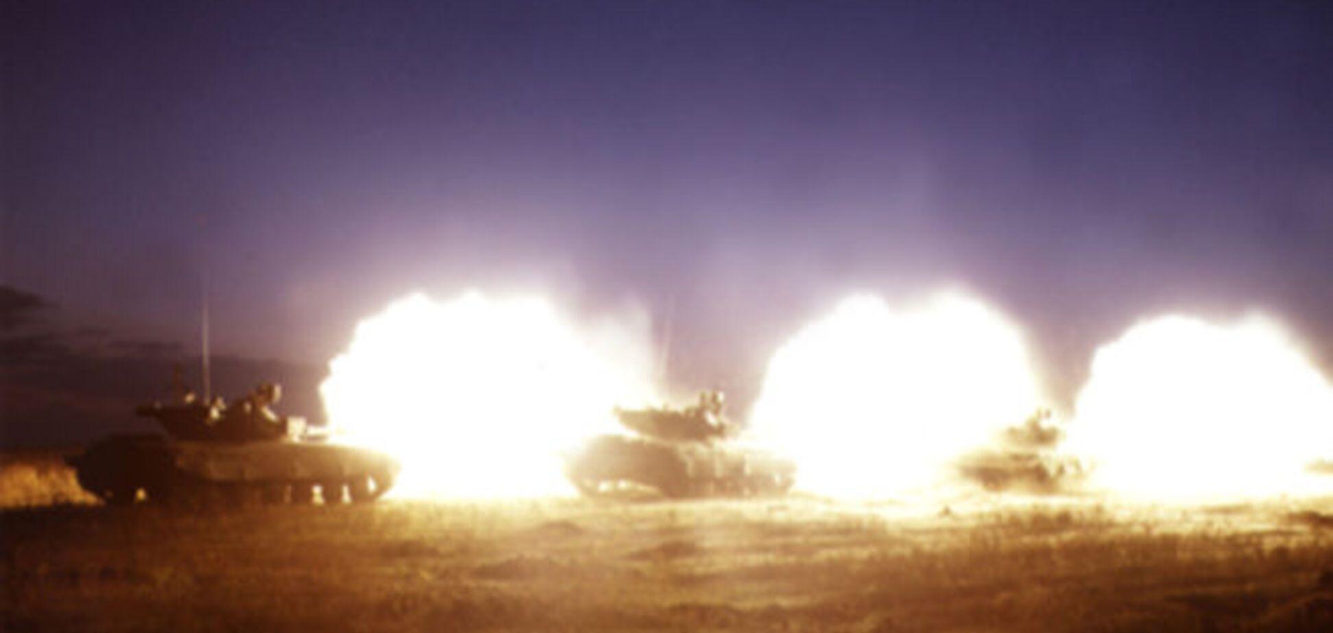 Ночью бронегруппа террористов атаковала позиции сил АТО в Марьинке