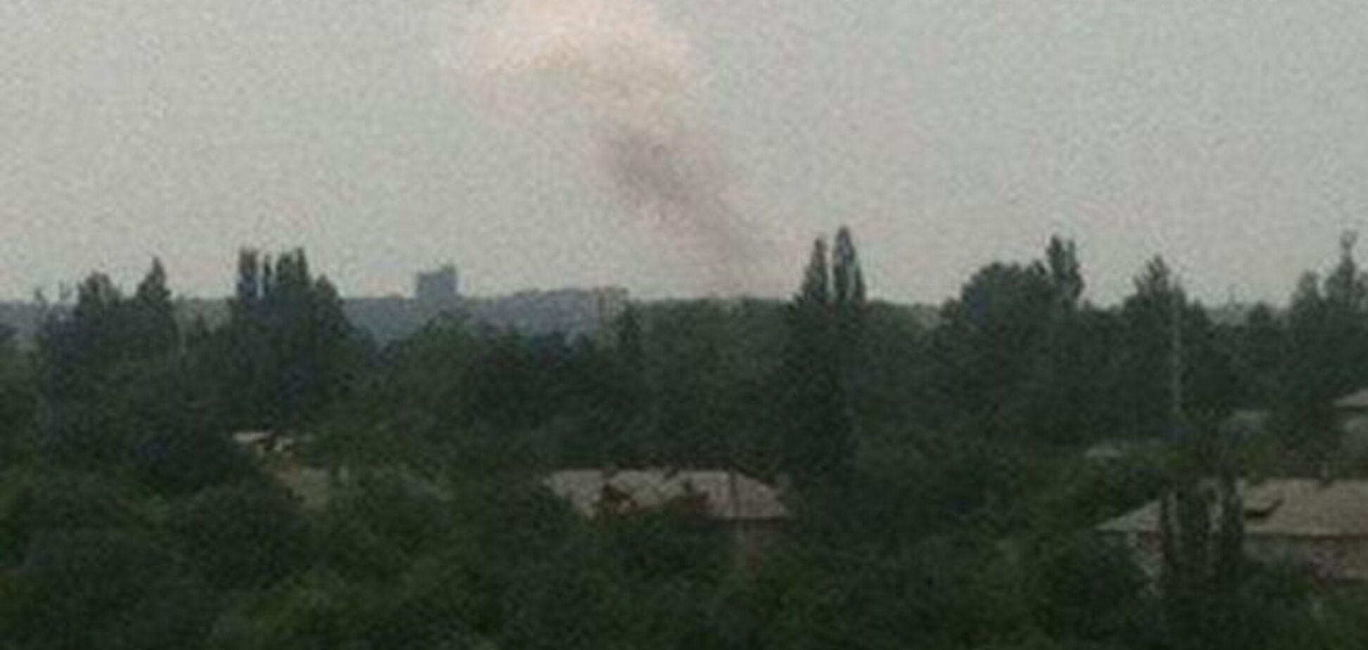 Донецк потряс страшный взрыв