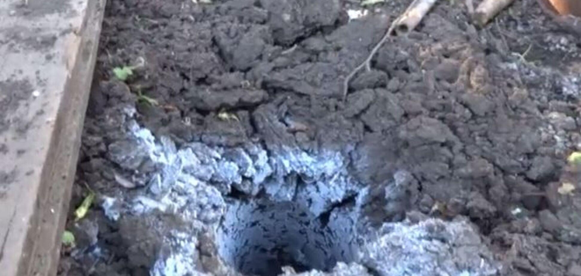 Террористы обстреляли Пески из запрещенного оружия. Видеофакт