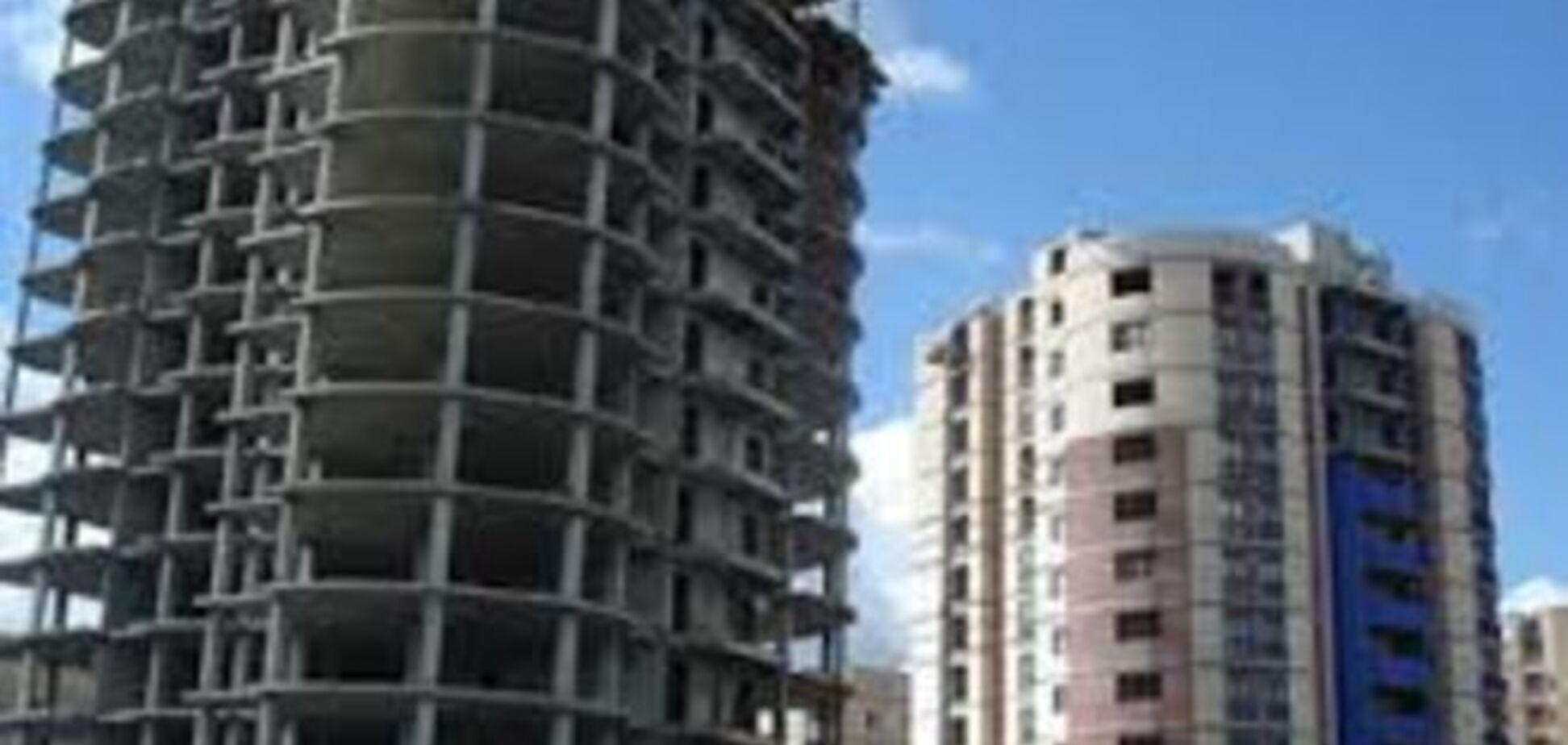 За 5 месяцев строительство в Украине упало на треть