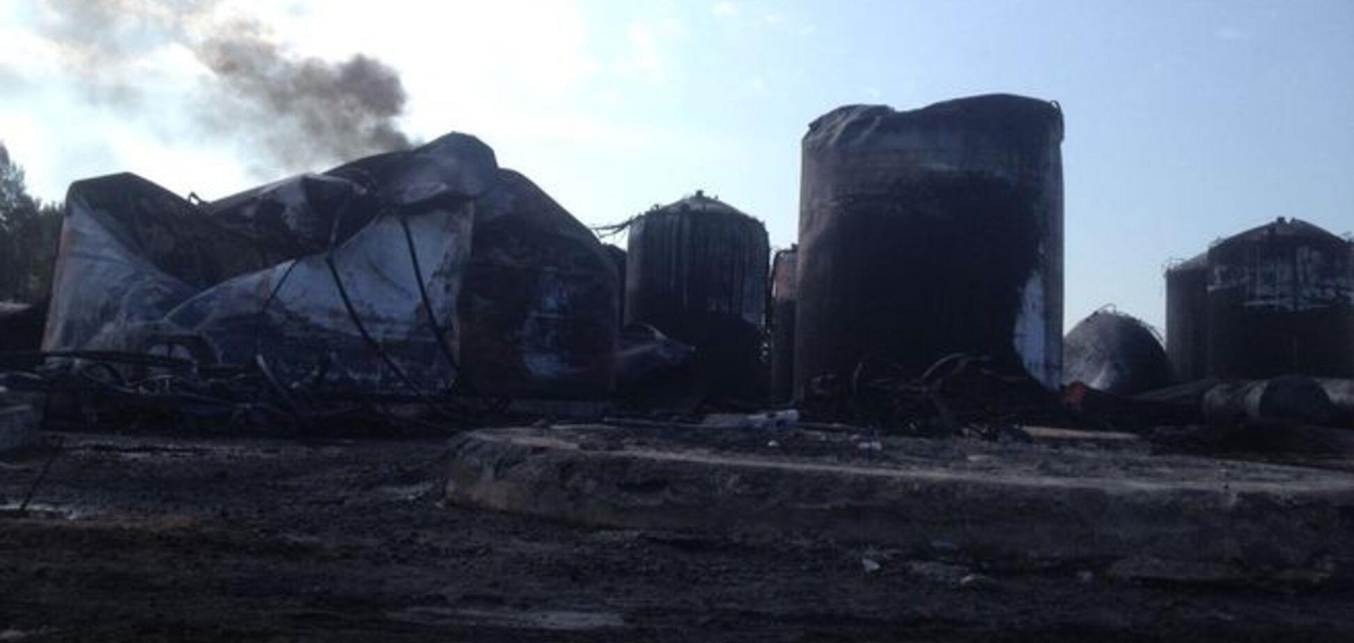 СЭС отчиталась перед жителями Киевщины, напуганными пожаром на нефтебазе
