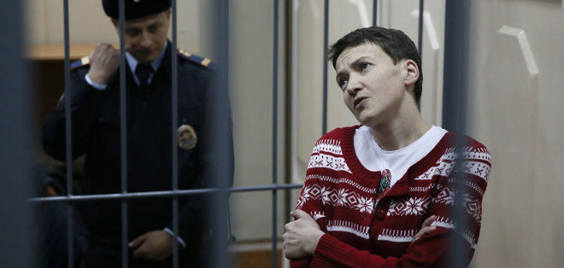 У Путина обратили внимание на вес Савченко
