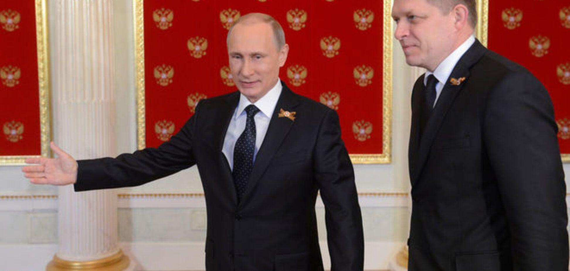 Двуличие: Премьер Словакии в Москве 'присягнул на верность Кремлю'