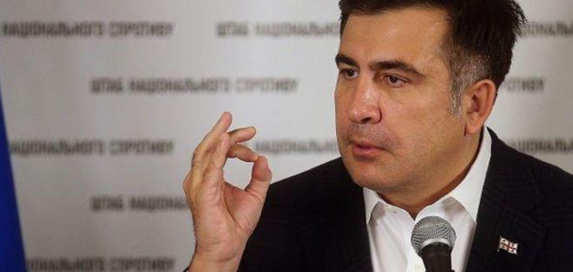 Саакашвілі: бідність України суперечить законам природи