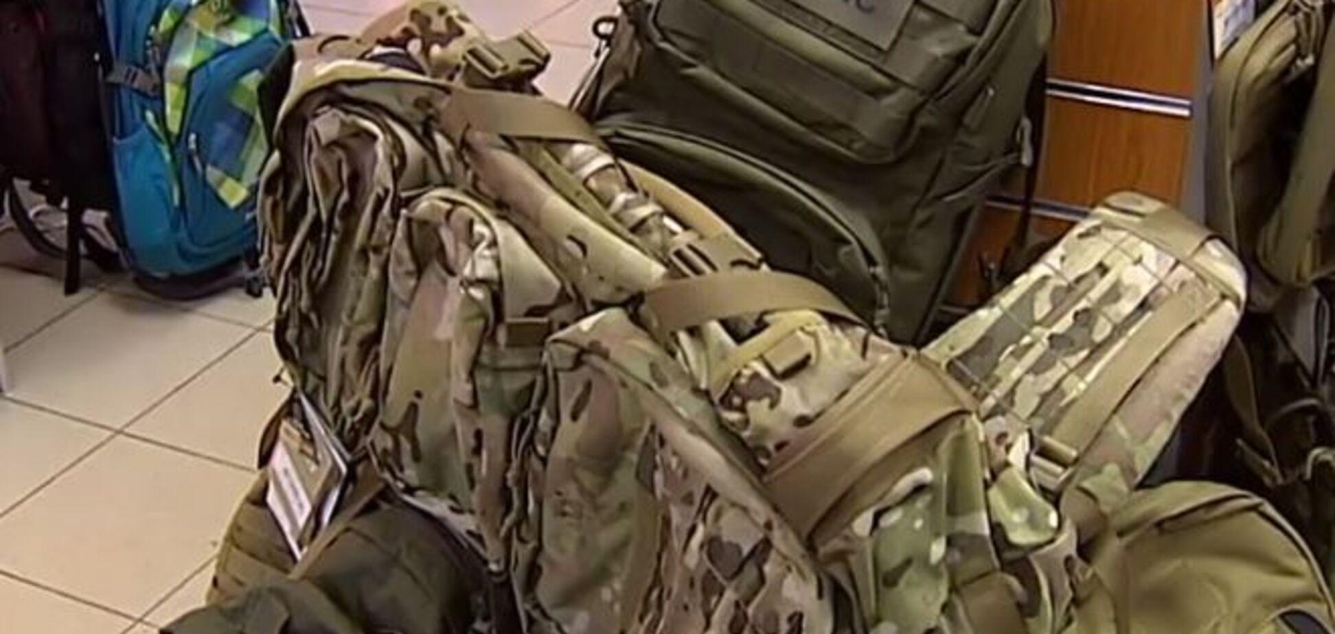 МВД купило рюкзаки для бойцов АТО на 14,5 млн грн через жену Авакова - СМИ
