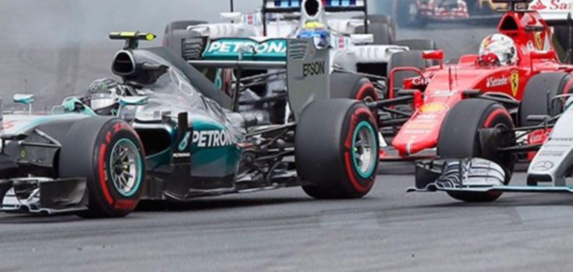 Росберг 'наказал' Хэмилтона на Гран-при Австрии