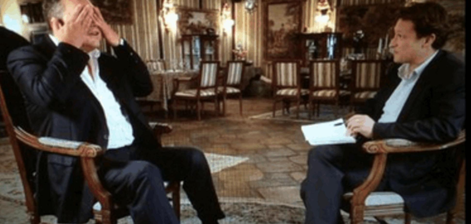 Янукович впервые после бегства дал интервью западным СМИ