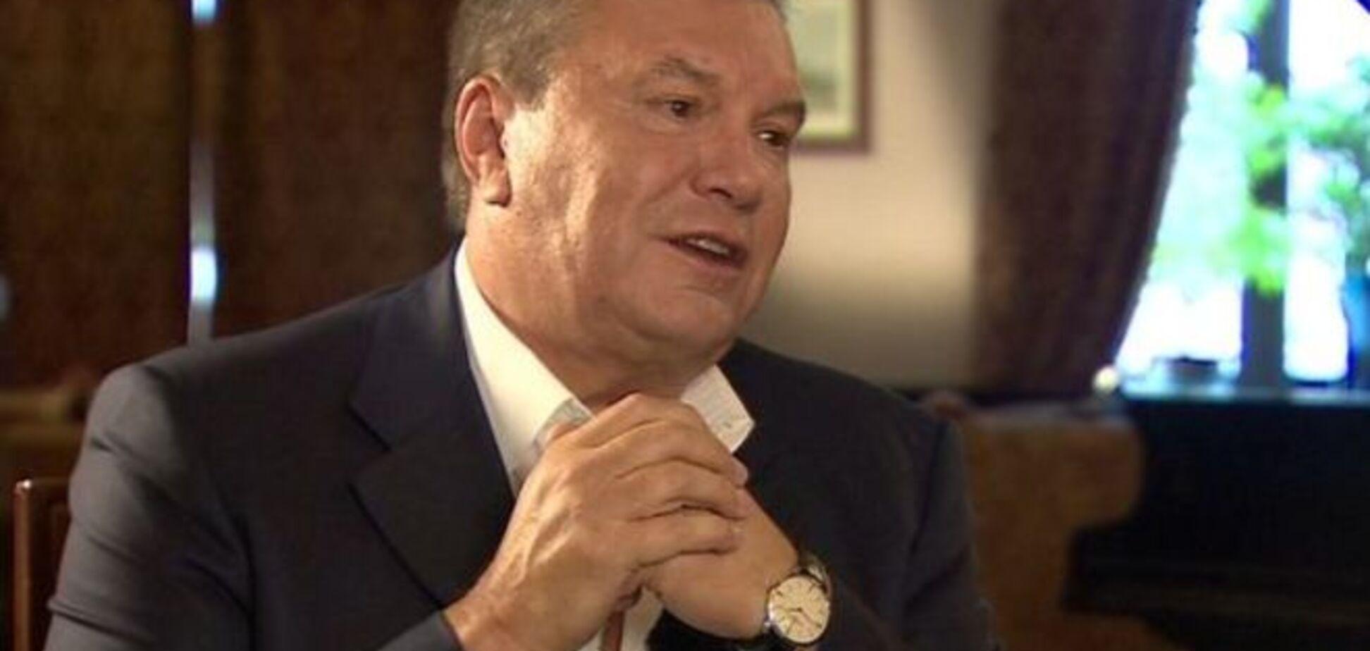 'Поддерживал страусов'. Янукович открестился от богатств Межигорья