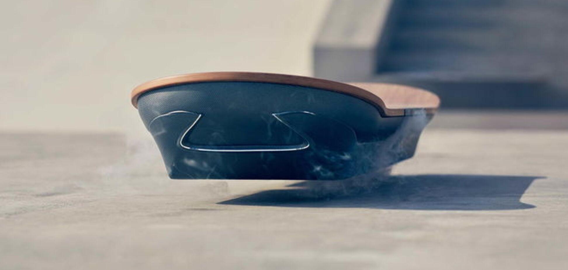 Lexus создал летающий ховерборд из фильма 'Назад в будущее': видеофакт