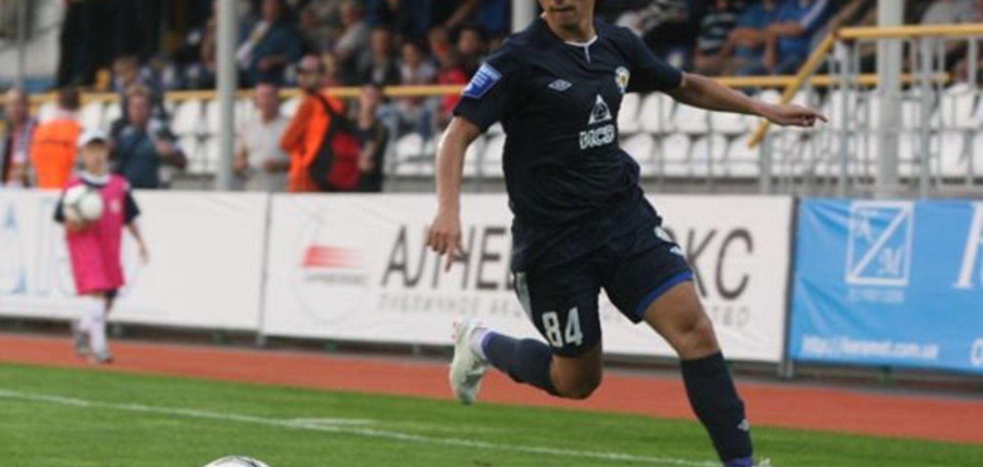 Відомий український футболіст хоче грати в Криму