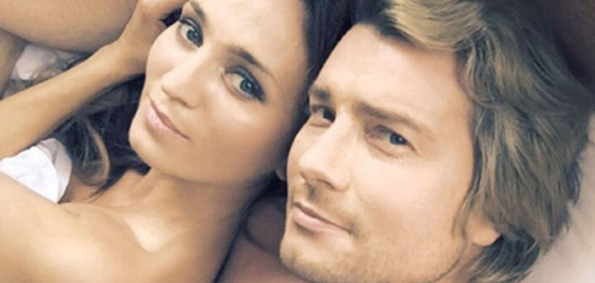 Басков опубликовал откровенные селфи в постели с невестой