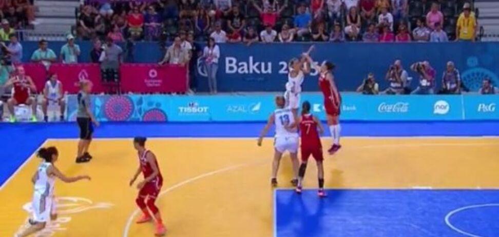 Украинские баскетболистки завоевали 'серебро' Европейских игр
