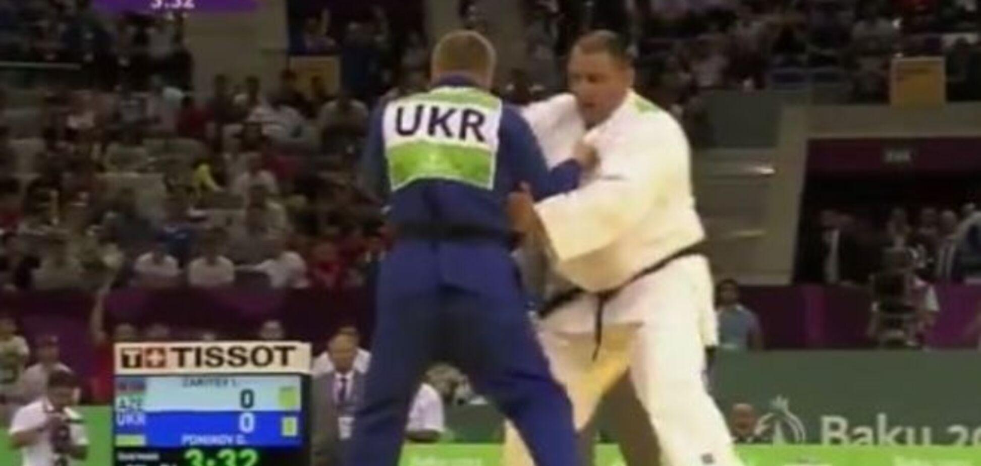 Дзюдоист принес Украине 41-ю медаль на Европейских играх
