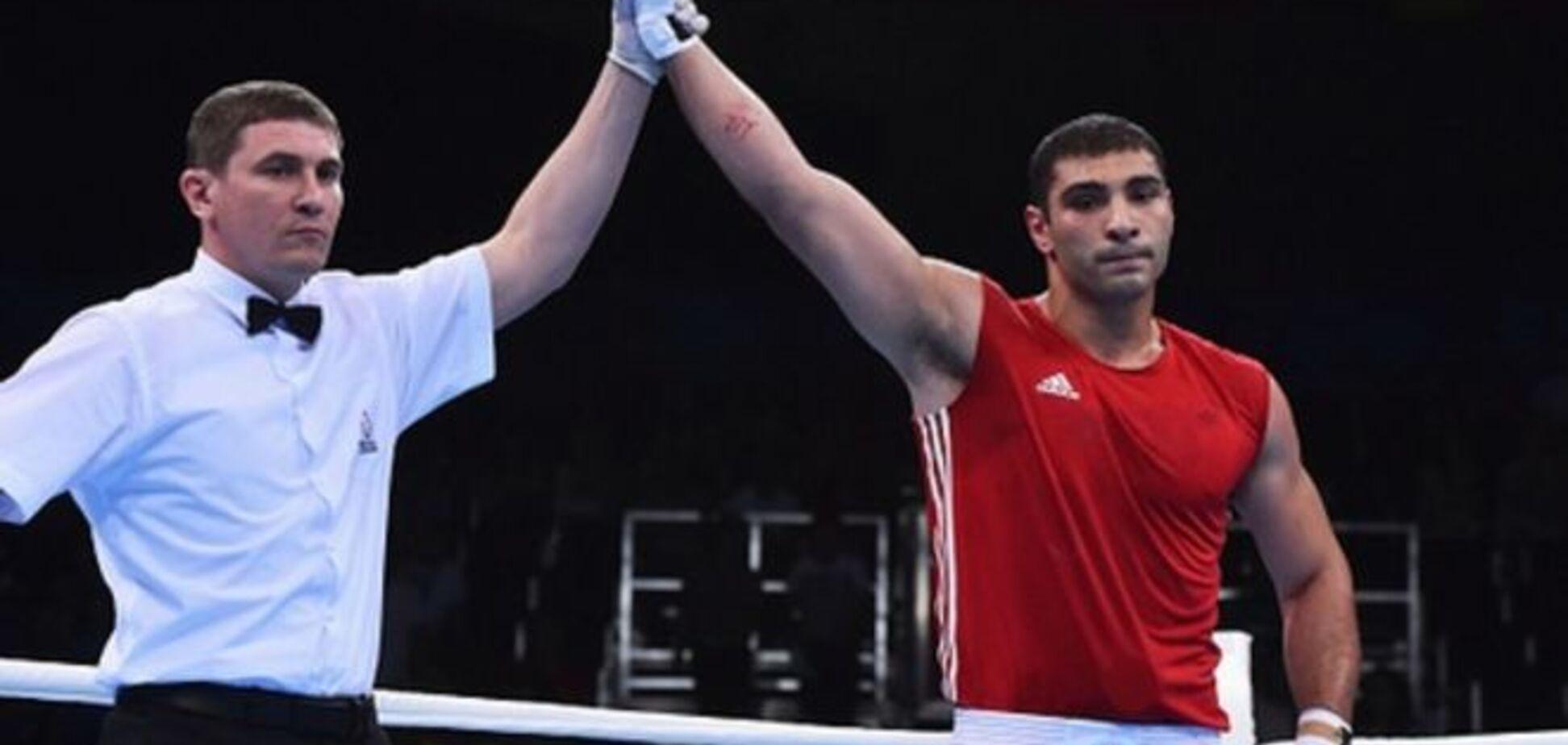 Український боксер з травмою завоював 'срібло' Європейських ігор