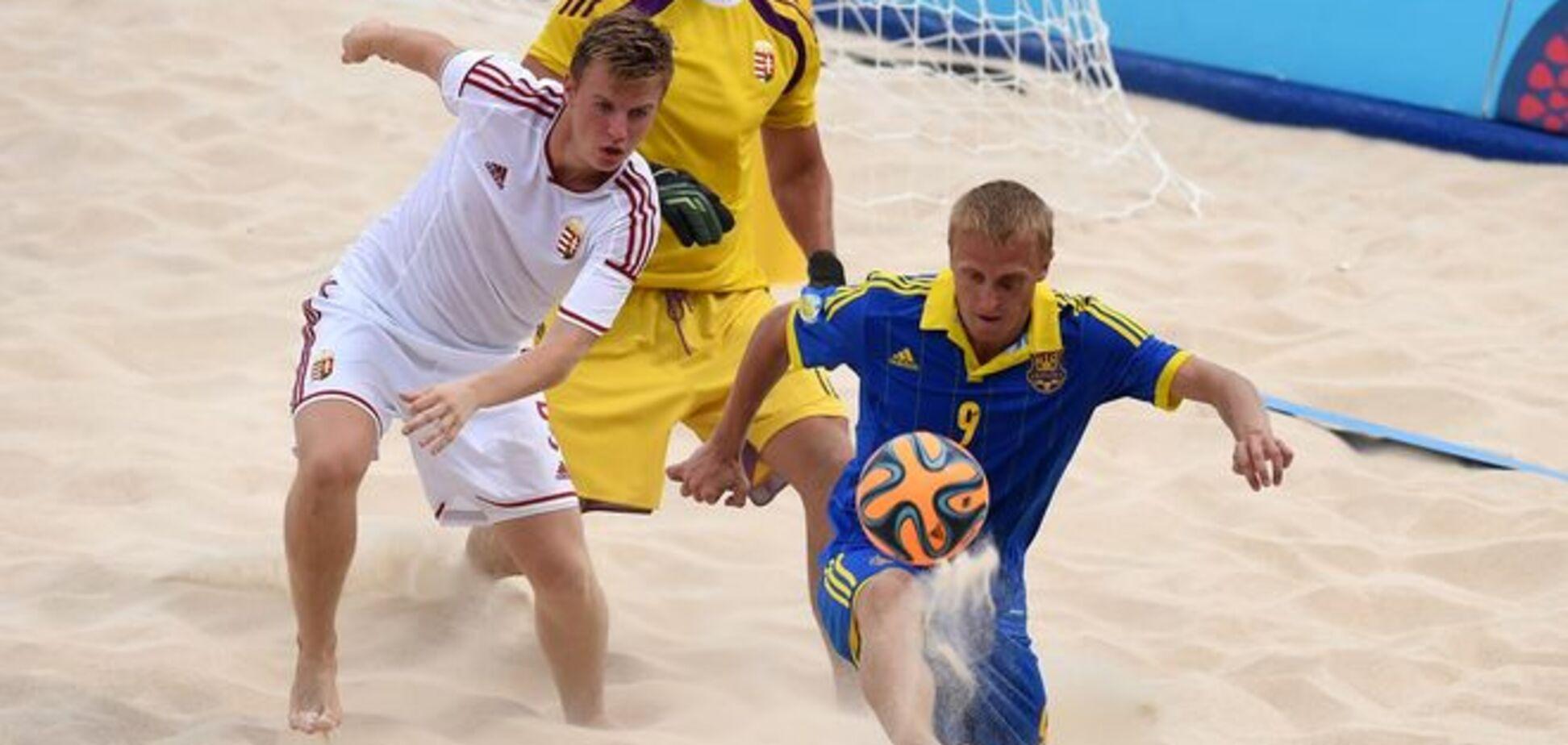 Украина - Испания - 3:6. Итоговое шестое место на Европейских играх