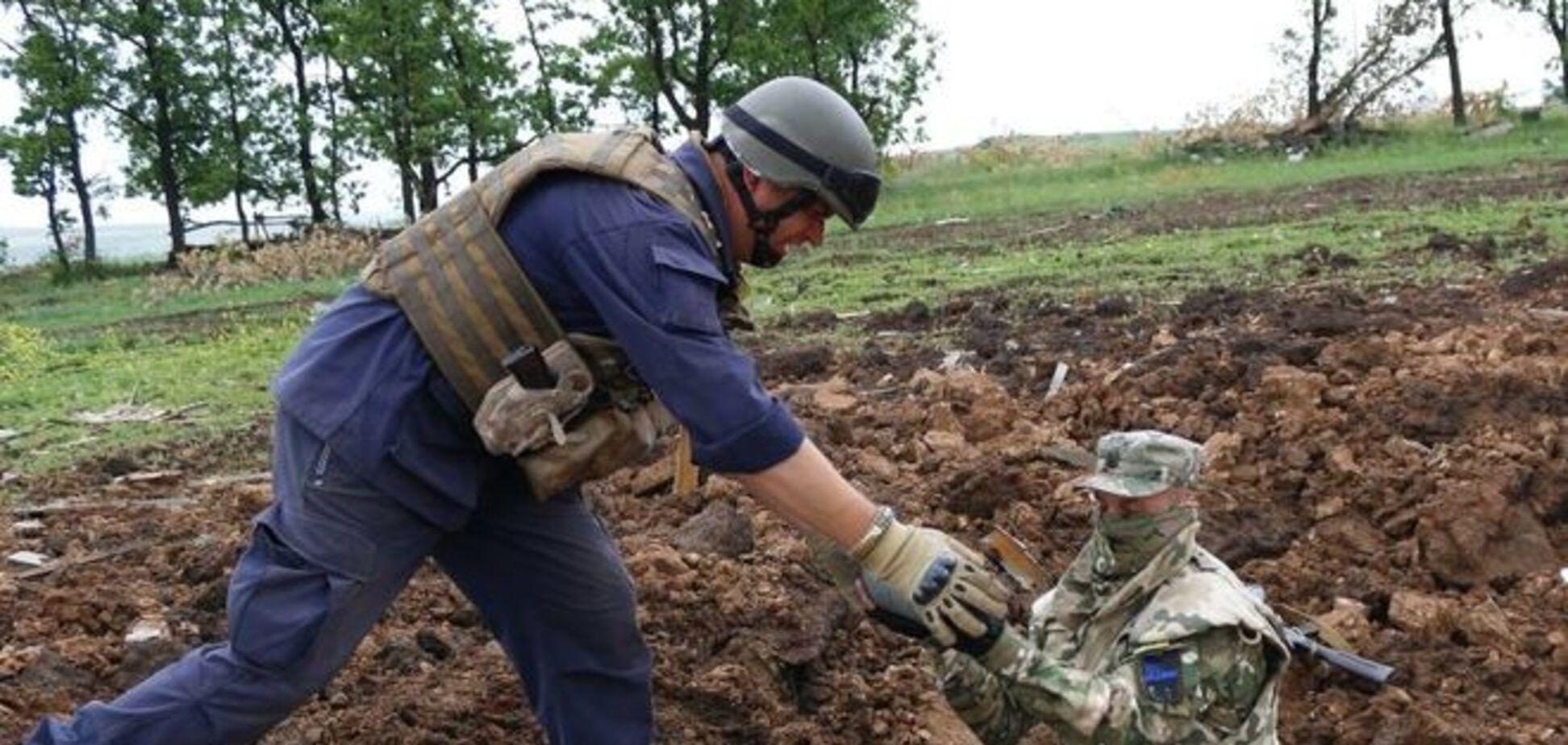 Как 'Тарантино' и Ко очищают Донбасс от снарядов террористов: фотофакт