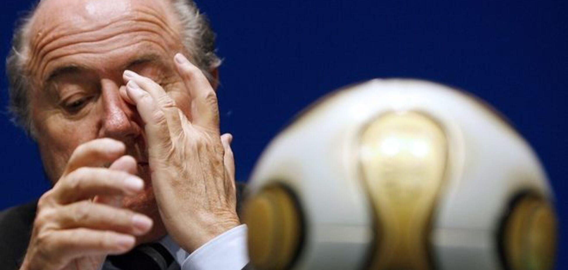 Скандал с коррупцией в ФИФА закончился отставкой Зеппа Блаттера