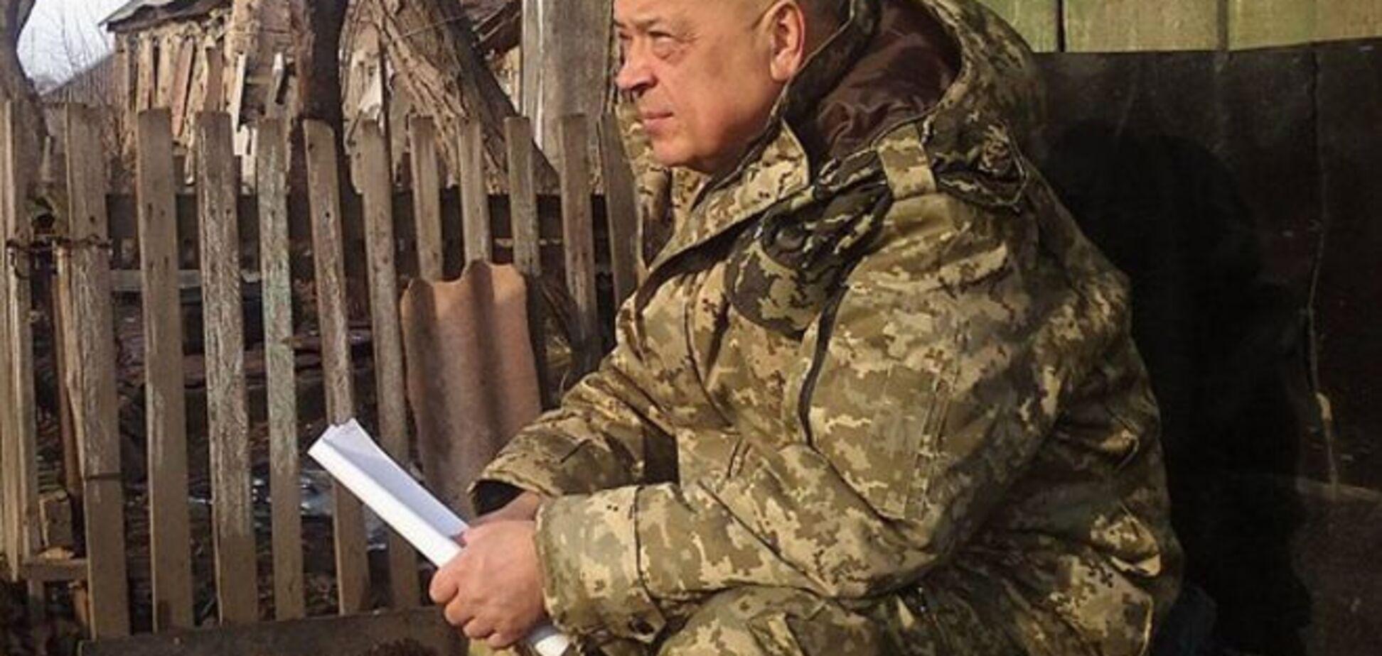 ДРГ из минометов расстреляла машину с мирными жителями - Москаль