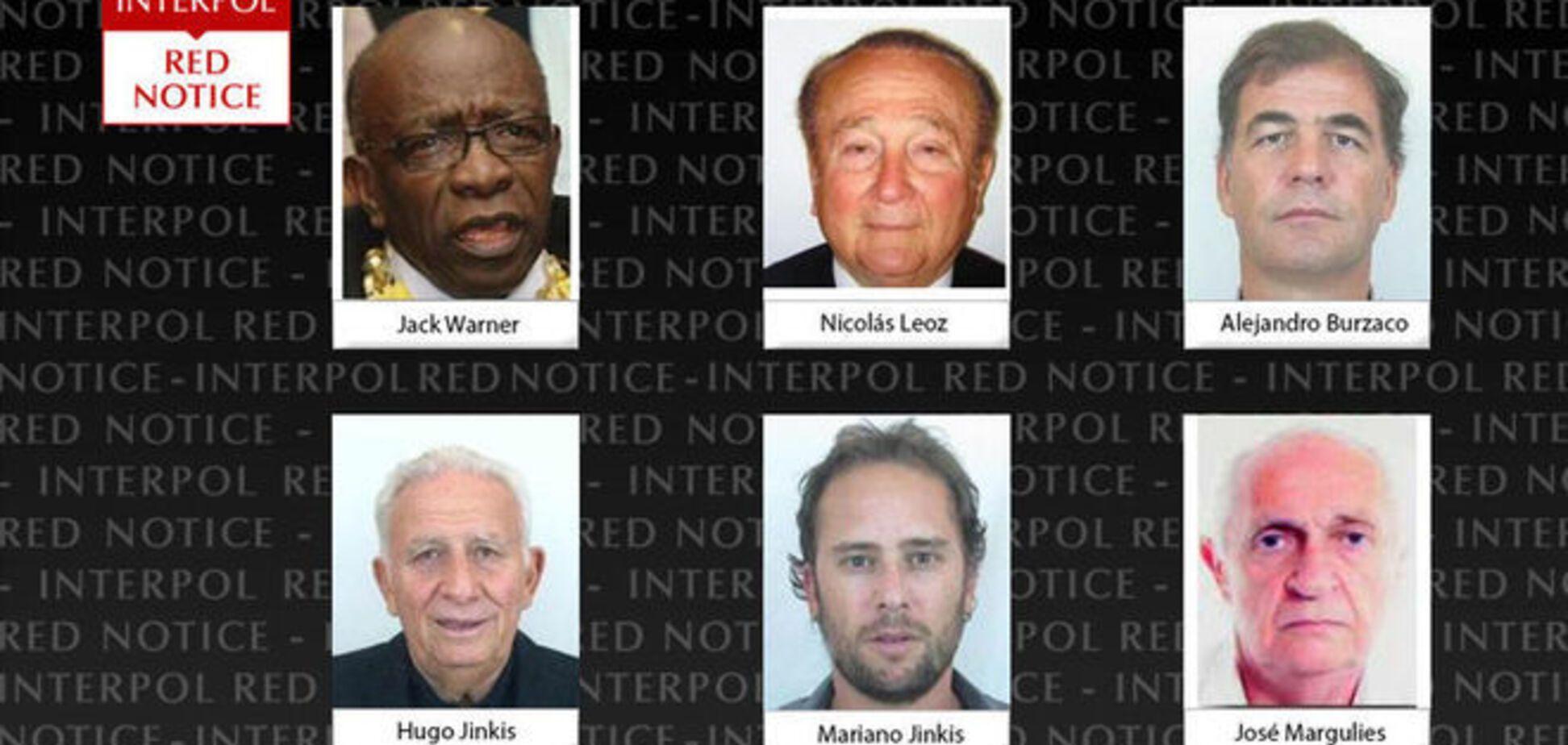 Интерпол открыл охоту на высших чиновников ФИФА: фото 'героев'