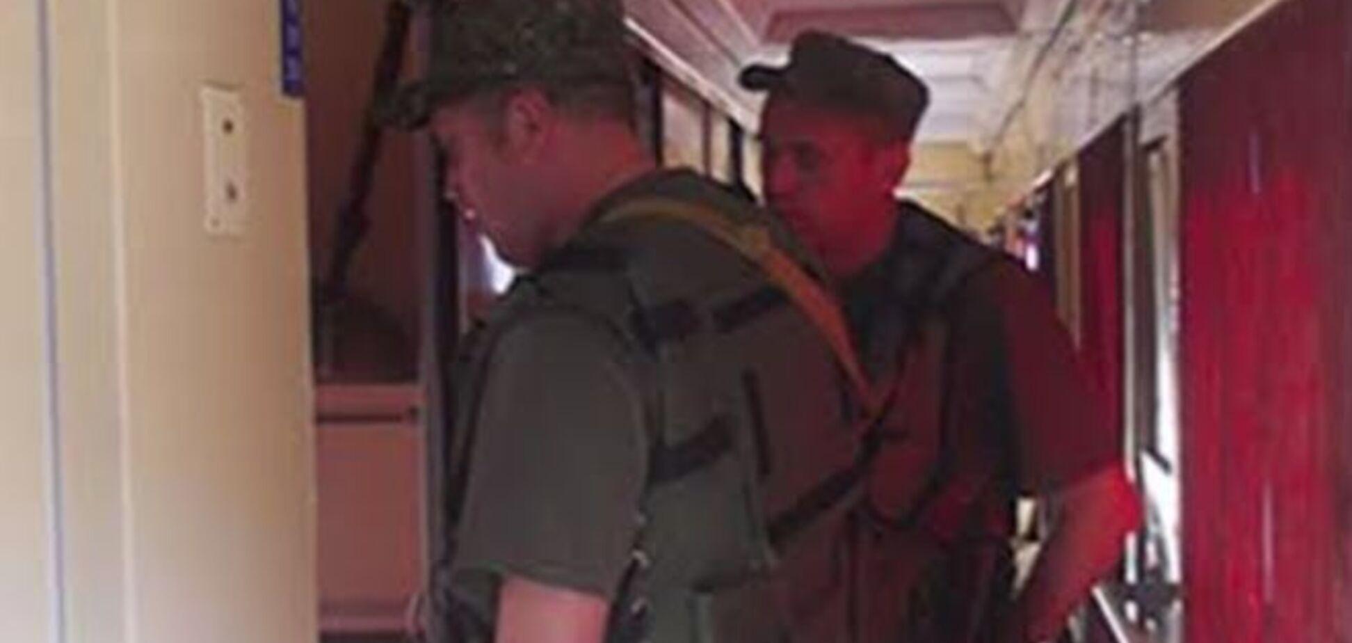 На Донбасс с ротацией приехали одесские милиционеры-транспортники