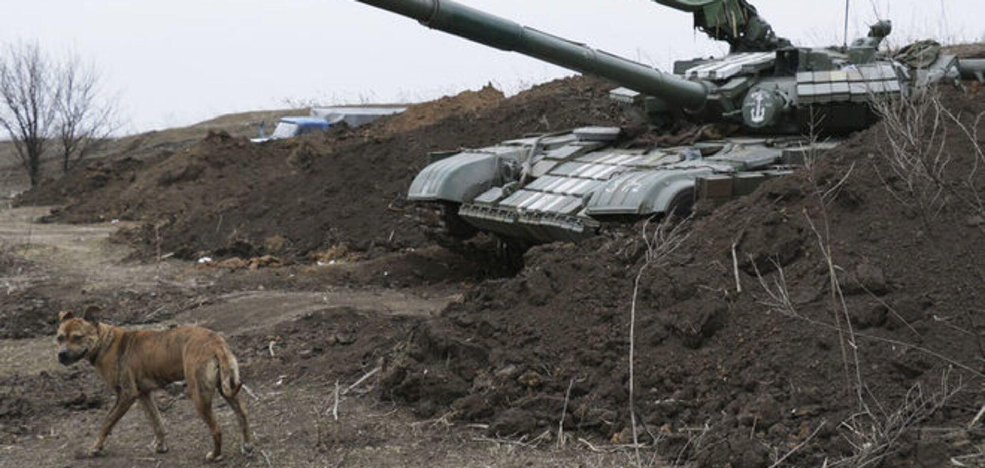 В авто з трупами терористів потрапили з танка - боєць АТО