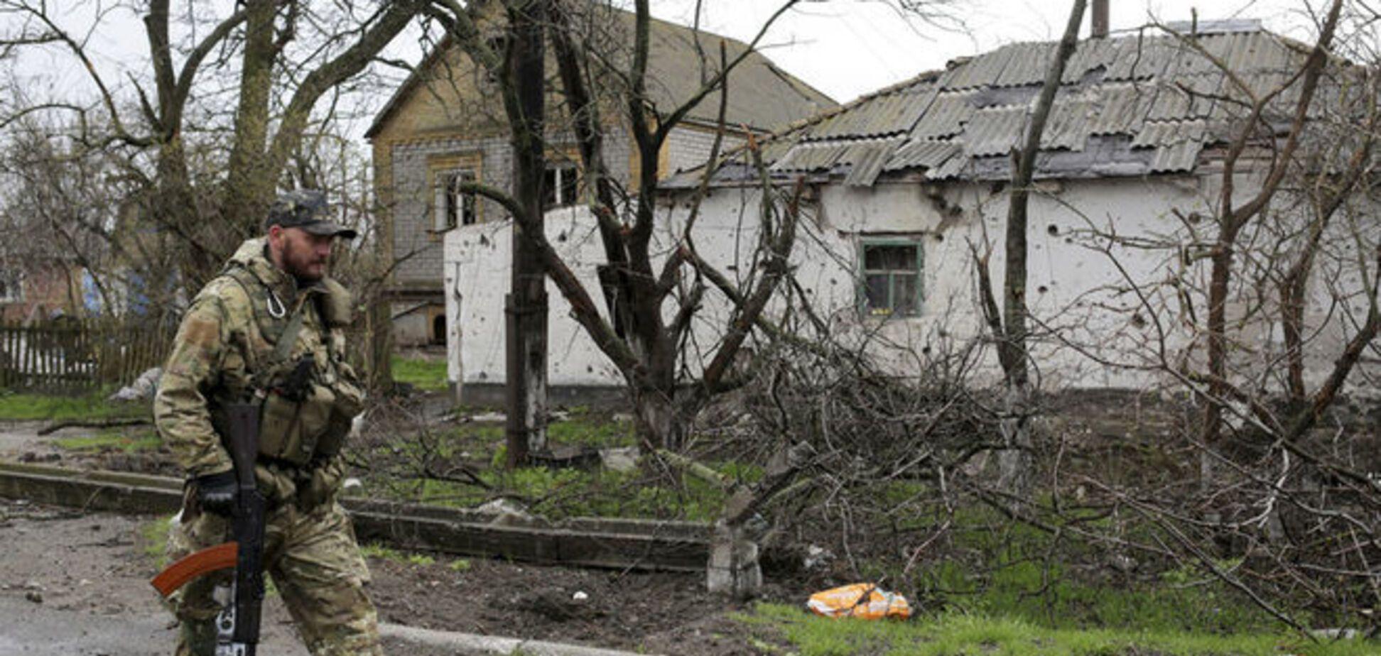Атаки террористов на Марьинку: в МВД назвали потери среди мирных жителей