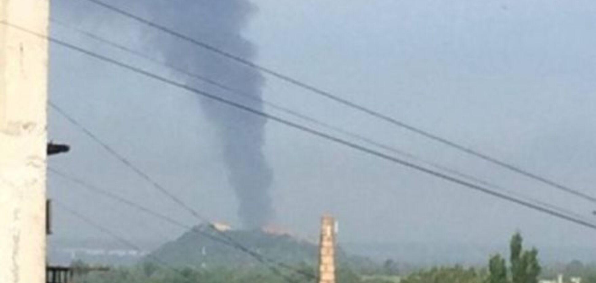 Террористы начали мощное наступление на силы АТО под Донецком