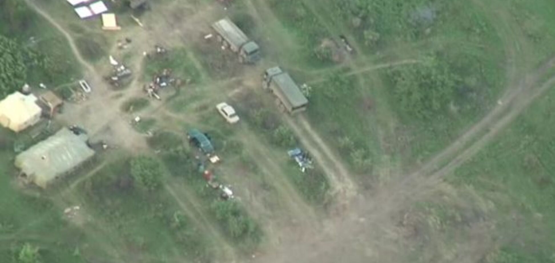 Російські війська за два тижні звели військову базу на Донеччині: розвідка оприлюднила відео