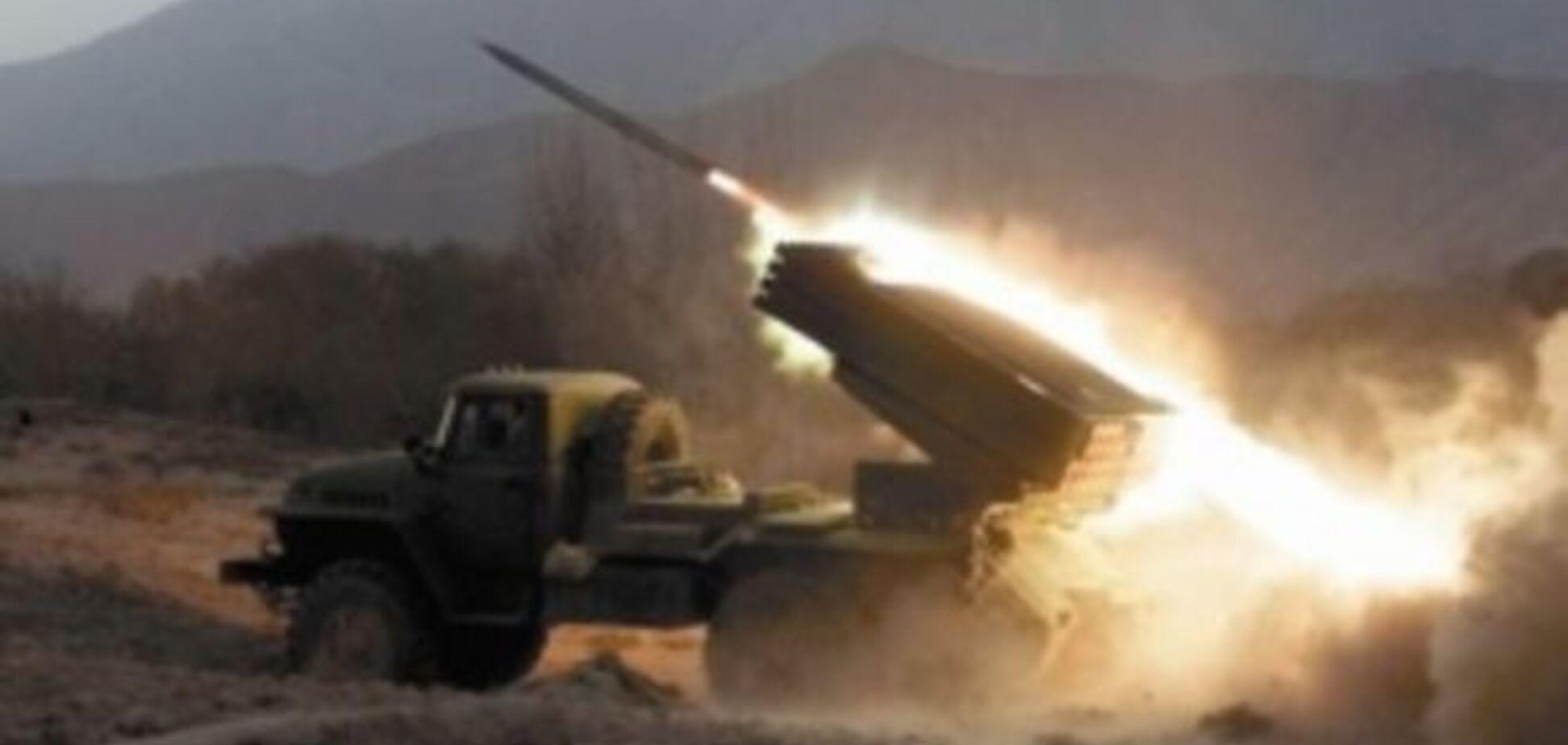 Террористы 'ЛНР' залпом из 'Градов' уничтожили агроферму и три комбайна