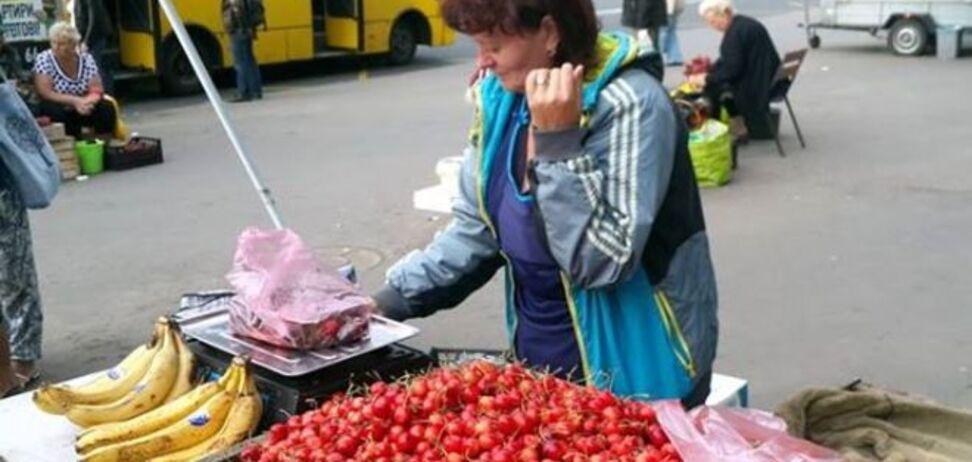 Недобросовестный продавец черешни из Киева стала 'звездой' соцсети