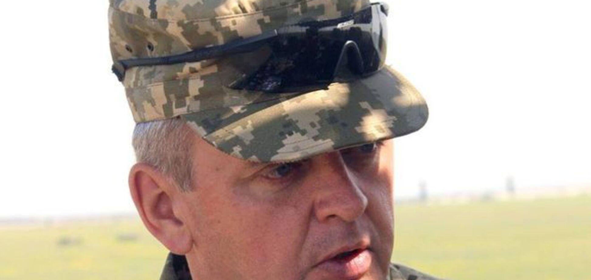 Муженко: п'ять тисяч терористів скоро будуть наступати під Донецьком
