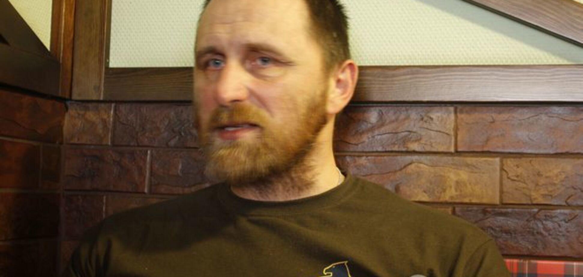 Командир артдивизиона 'Азова': маленький кусочек на востоке Украины – вот это будущее России