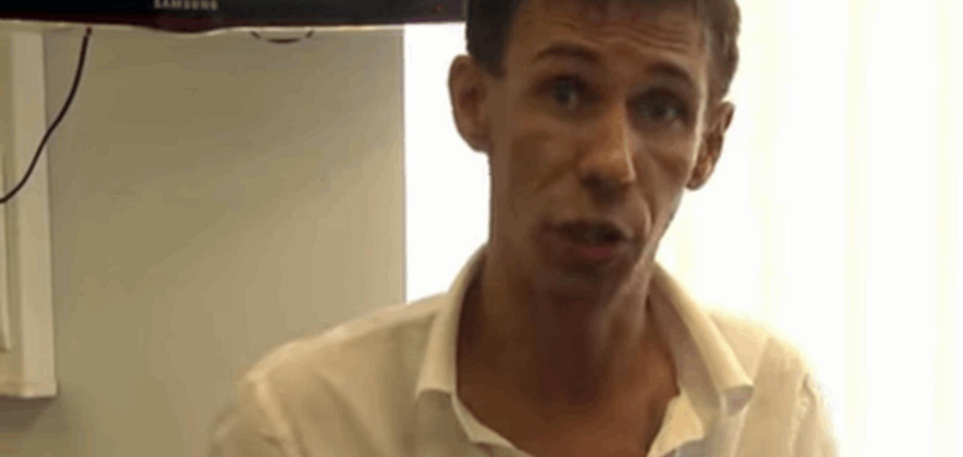 Скандальный российский актер Панин хочет перерезать горло Порошенко: видеообращение