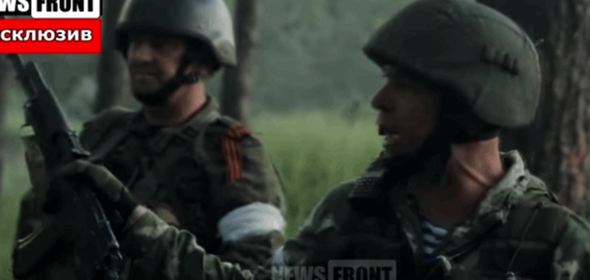 Марьинку атаковали 'восставшие шахтеры' с российским говором: видеофакт
