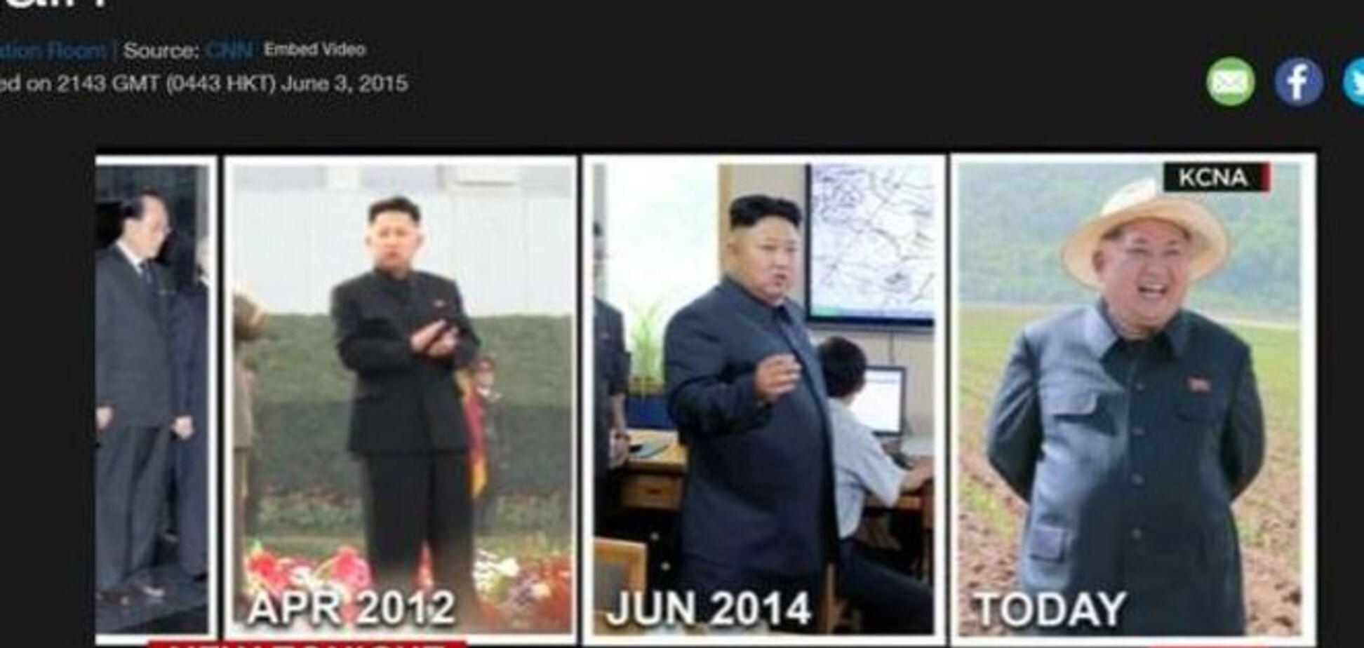 Растолстевший Ким Чен Ын озадачил журналистов: видеофакт