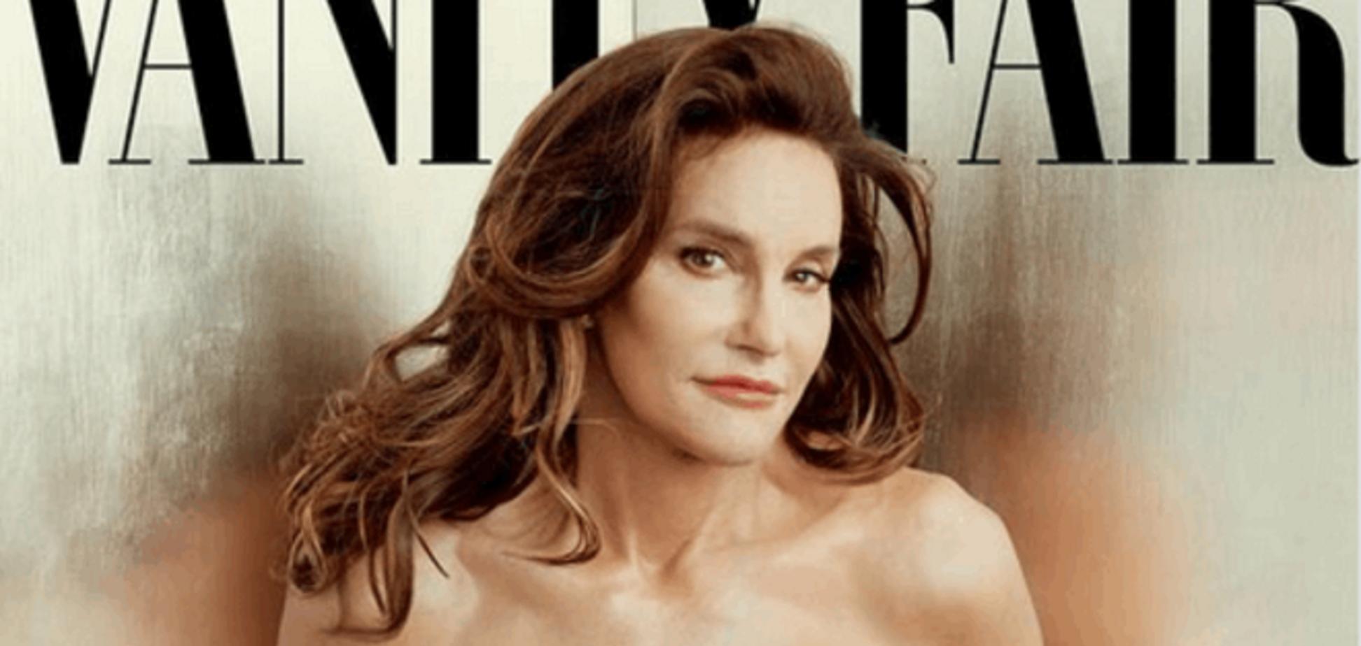 Как Vanity Fair скрывал съемки с отчимом Ким Кардашьян в облике женщины