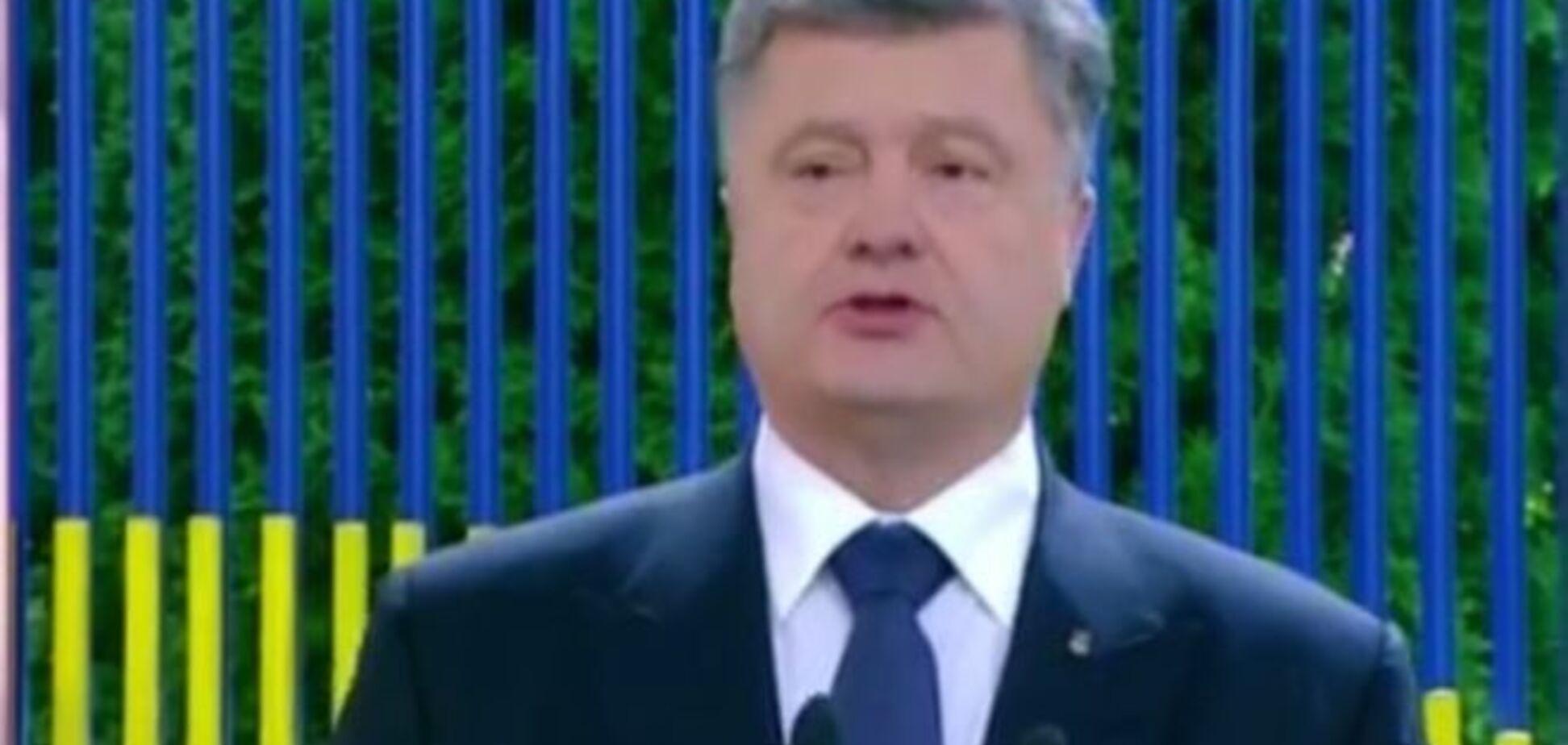 Из российской военной техники на Донбассе есть все, кроме подлодок – Порошенко