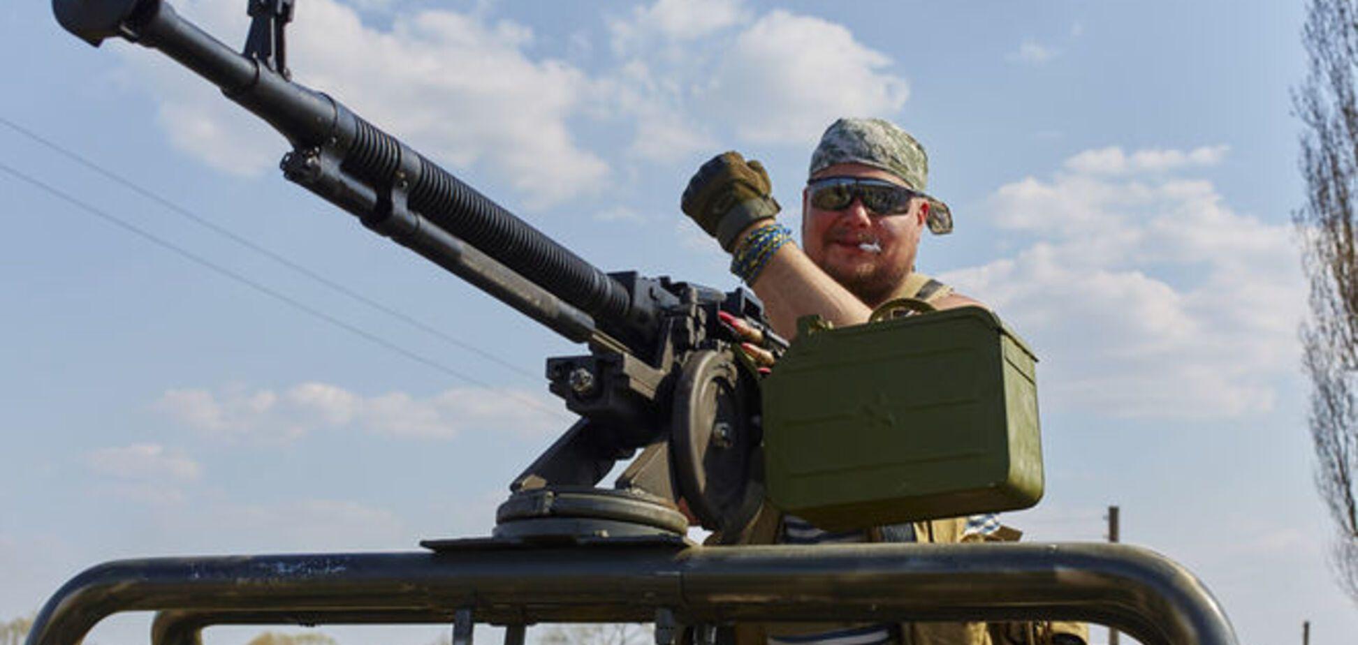 Силы АТО отбили попытку террористов форсировать Северский Донец