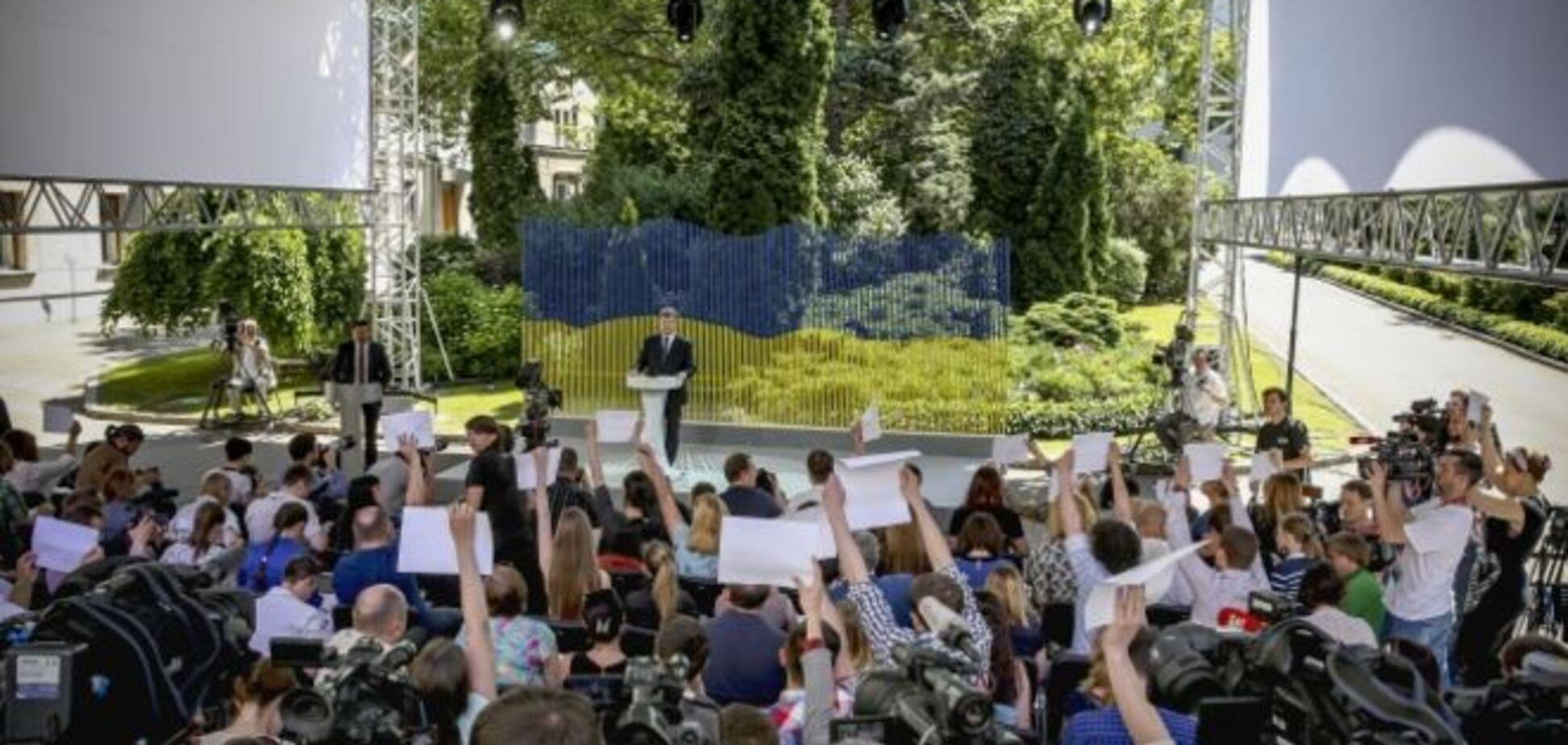 Крым, продажа 'Рошен', дружба с Фирташем и досрочные выборы: о чем говорил Порошенко