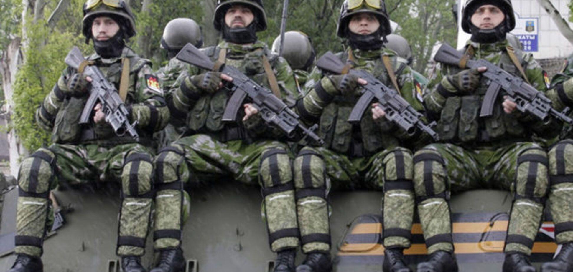 Под Донецком диверсионные группы террористов пытались пробиться в тыл сил АТО