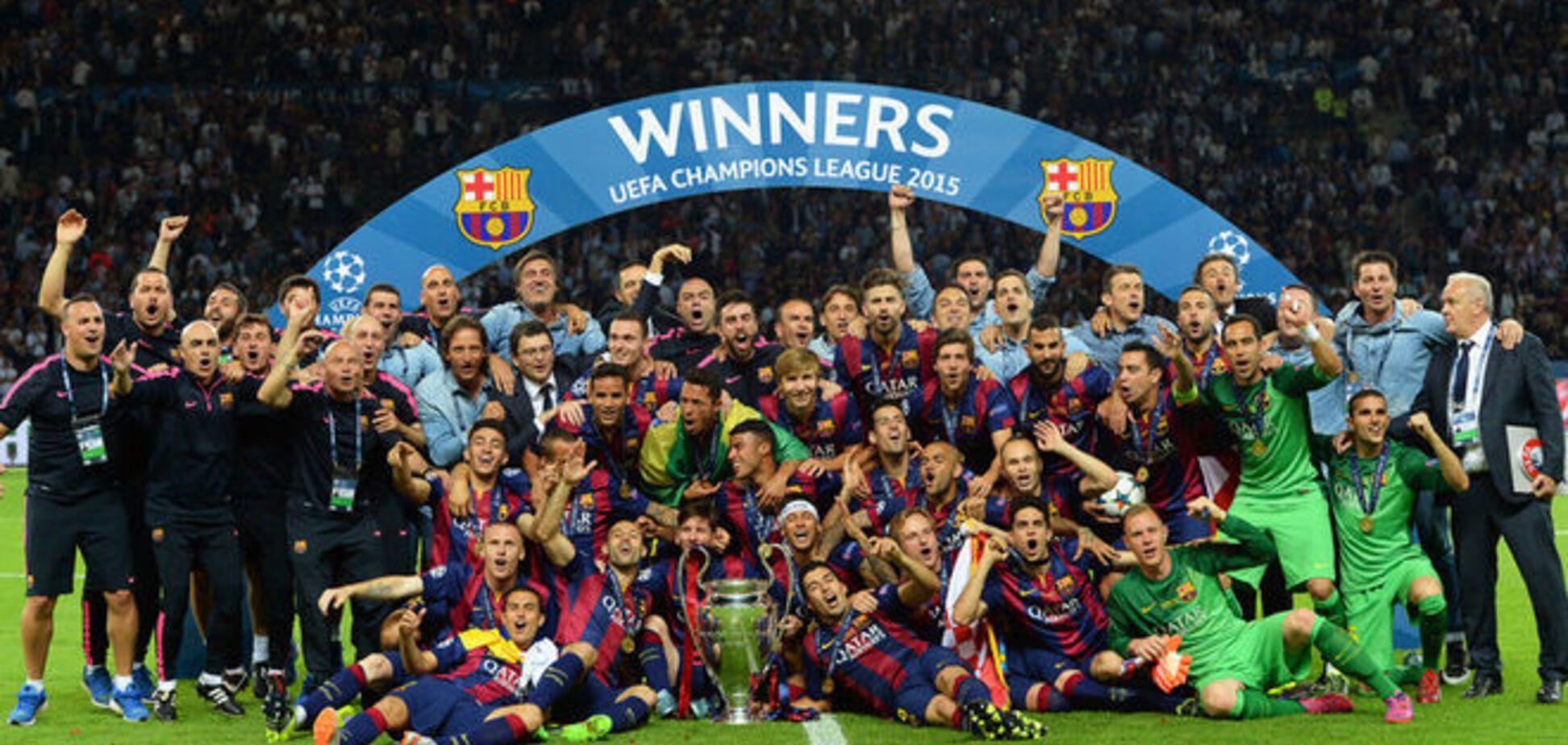 Чемпионский трезубец: почему 'Барселона' стала лучшим клубом Европы