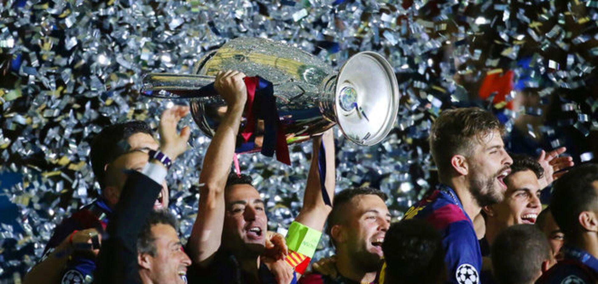 'Барселона' выиграла Лигу чемпионов в тяжелой битве с 'Ювентусом'