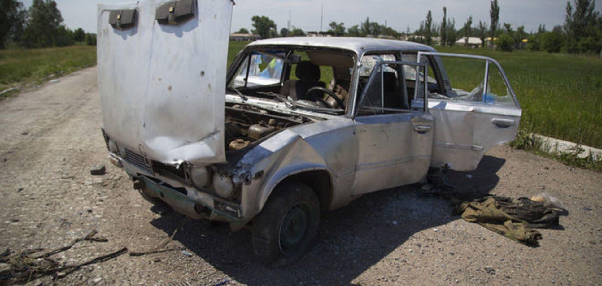 Террористы накрыли 'Градами' Луганское и Старогнатовку