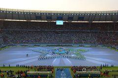 Ювентус – Барселона: яркие фото церемонии открытия финала Лиги чемпионов